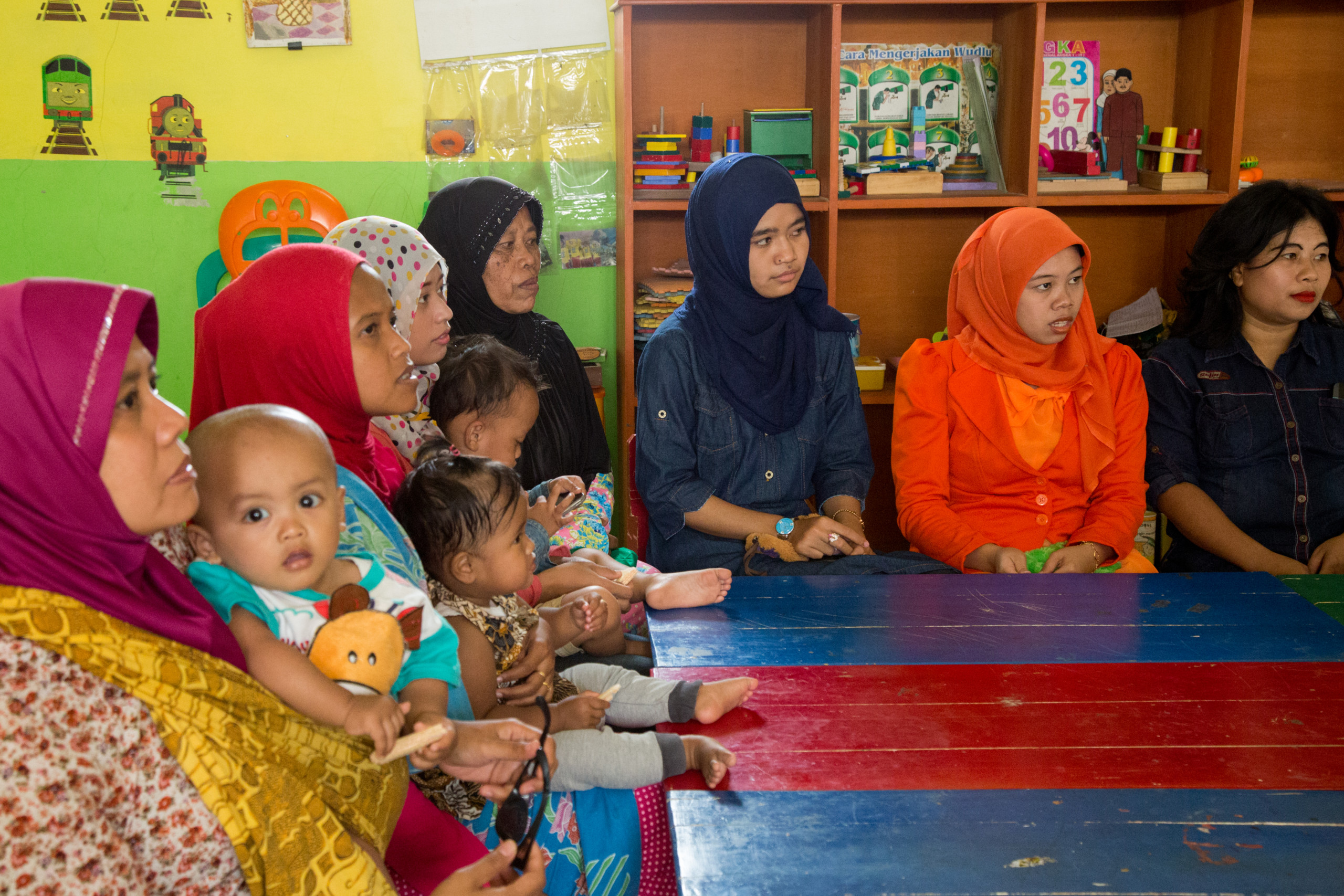 Local classes for mothers