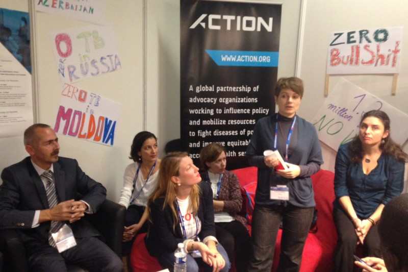 TB Europe Coalition gives voice to European TB activists at Union World Conference