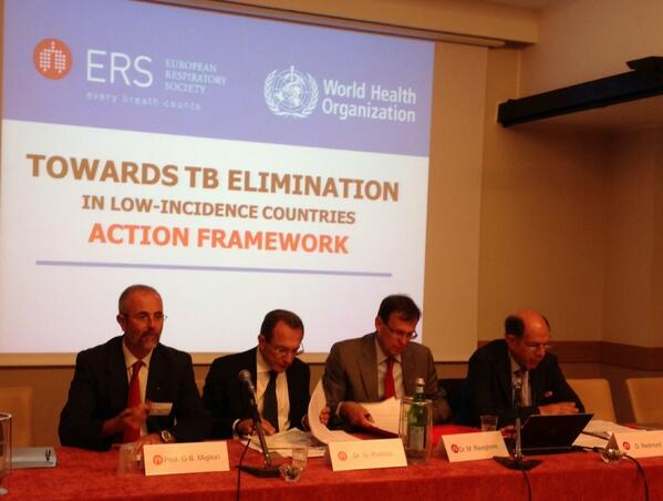 WHO develops an Action Framework for TB elimination in low-incidence countries