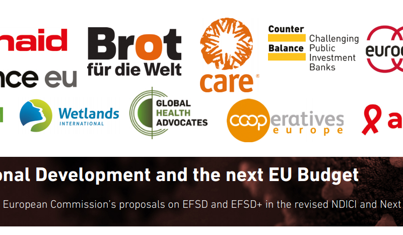 International Development and the next EU Budget : An analysis of the European Commission's proposals on EFSD and EFSD+ in the revised NDICI and Next Generation EU