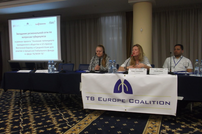 The TB Europe Network Meeting in Kyiv strengthens civil society capacities in Eastern Europe and Central Asia