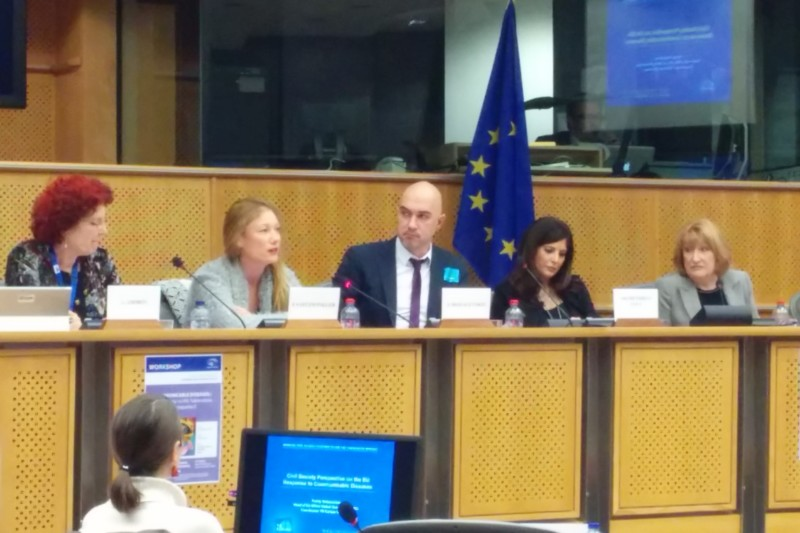 GHA ADDRESSES EUROPEAN PARLIAMENT HEALTH COMMITTEE ON DONOR TRANSITION IN EASTERN EUROPE AND CENTRAL ASIA