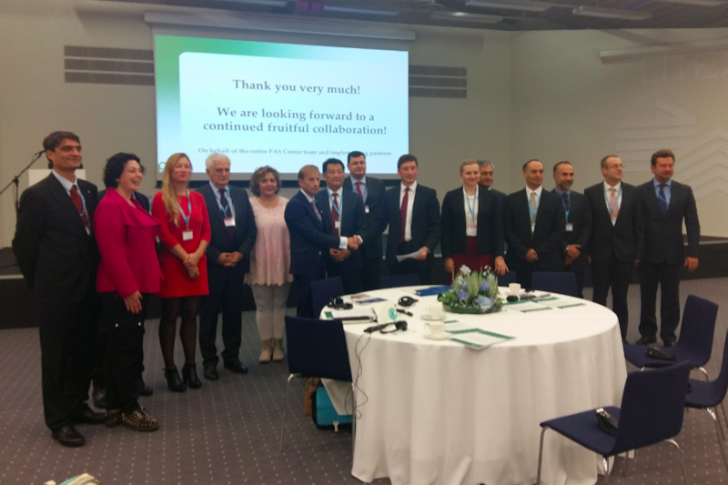Launch of Regional Global Fund Grant to help fight TB in Eastern Europe and Central Asia